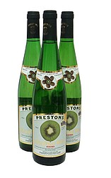 Fruit Wines: Preston Kiwifruit Wine