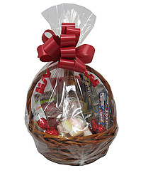 Gift Baskets: CANTERBURY CREAM BASKET