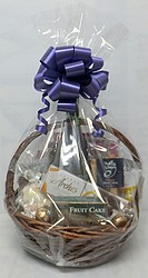 Gift Baskets: Small Round Cane