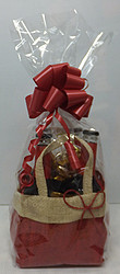 Gift Baskets: HESSIAN CARRY BAG