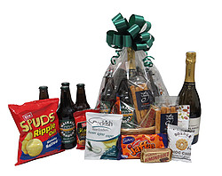 Gift Baskets: Bubbles and Beer Basket