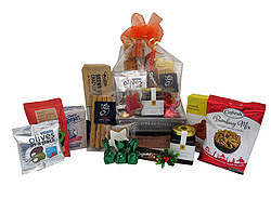 Gift Baskets: No Alcohol Wooden Crate